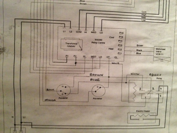 honeywell pipe stat wiring diagram honeywell image need help honeywell tb8575a1000 fan coil thermostat wiring on honeywell pipe stat wiring diagram