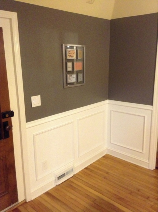Wainscoting picture frame style: mounting, caulking, and expansion question-image-3469570172.jpg