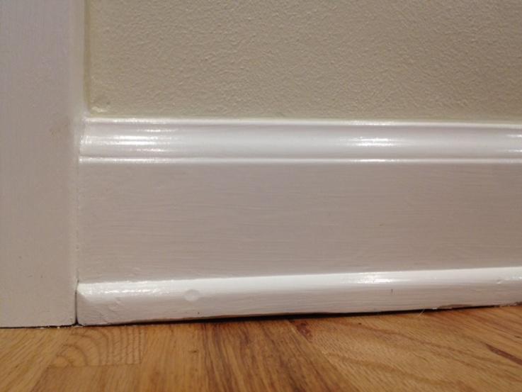 Ughulk Or Putty Gap Between Quarter Round And Hardwood Floor