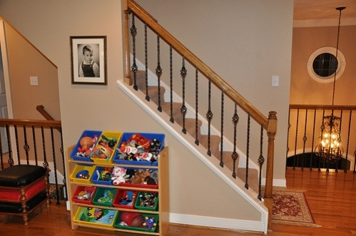 Basement Stair Rail And Baluster Question Image 3773402326
