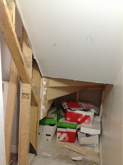 Removing wall under stairs. is it safe to remove these studs?-image-4076149324.jpg