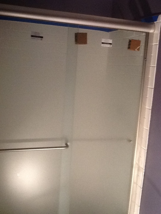 Installing Shower Door Opening Out Of Square By 3 4