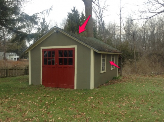 Shed Roof Sagging Amd Walls Bowed Out - General DIY ...