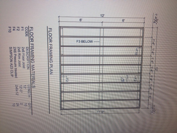 8x12 Shed Floor And Foundation Plans Building