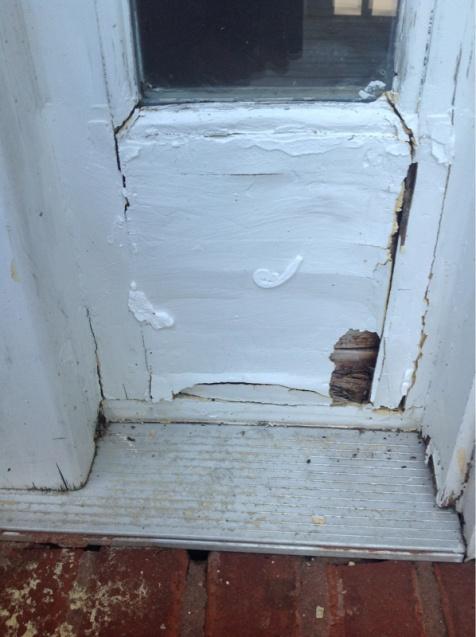 Wood Rot repair under sidelight-image-585654305.jpg