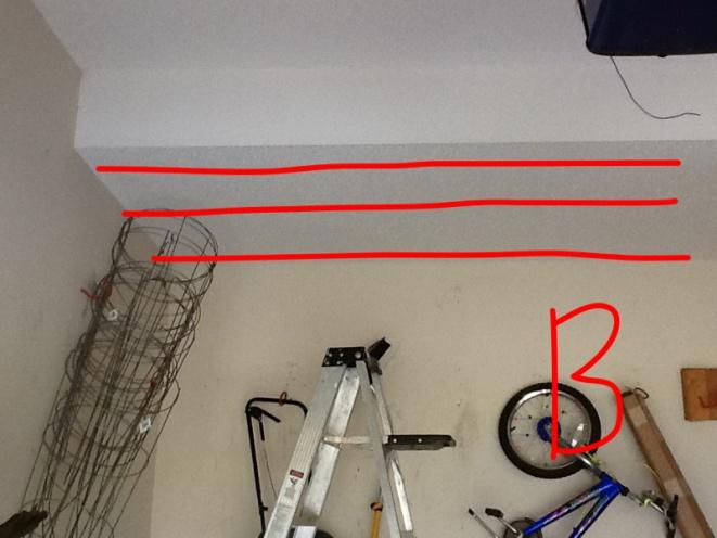 Help finding joist in garage ceiling general diy