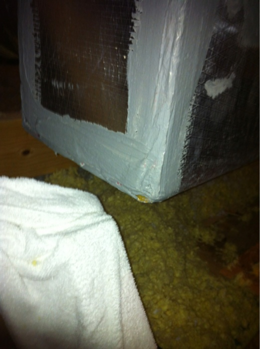 Leak where a duct comes in the air handler-image-798820622.jpg