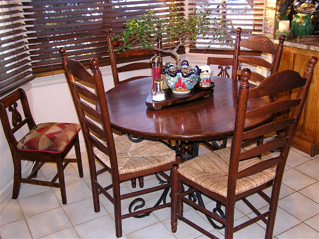 Should Kitchen Table Match Cabinets Imagejpeg