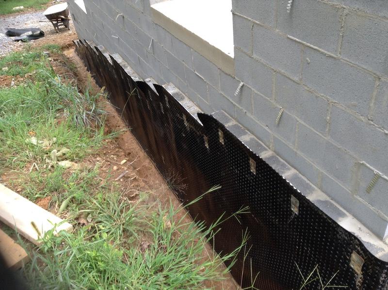 Sealing Exterior Basement Foundation Concrete Stone