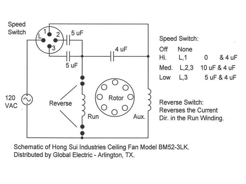Ceiling Fan Bypass Variable Speed Electrical Diy