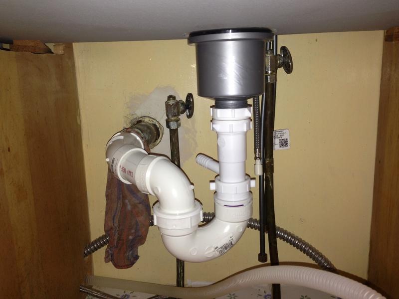 Sink/Dishwasher Waste Line Image