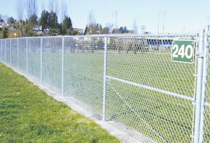 Chain Link Fence Line Post Spacing - Best Fence Design 2018