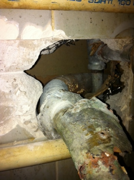 Connecting drain trap to sewer line-image.jpg