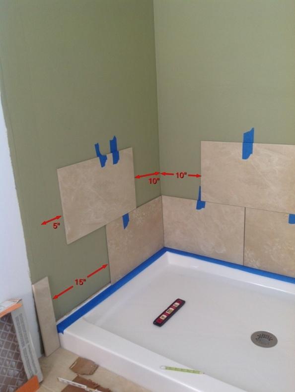 Shower Tile Layout - Kitchen & Bath Remodeling - DIY Chatroom Home ...