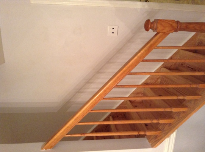 What To Finish My Pine Stairs With Image