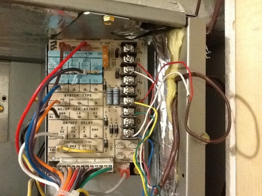 Carrier Air Handler Wiring - Hvac