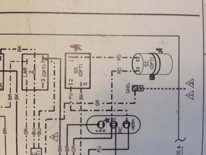 Wiring Diagram Vs Actual Wiring   - Hvac