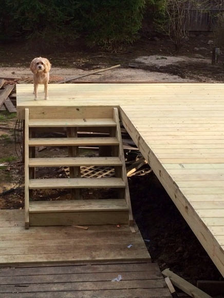 Deck Stairs // How Do I Fix Varying Riser Heights Image