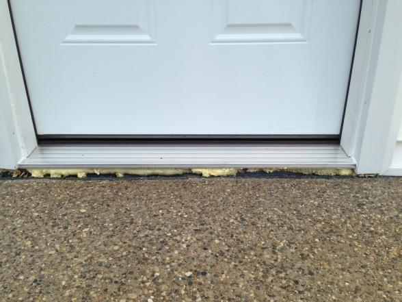 Gap In Prehung Door Windows And Doors Diy Chatroom