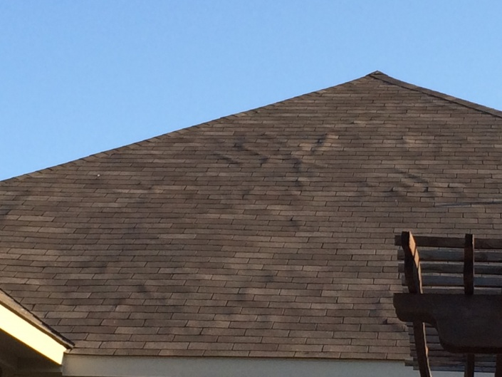 Proper Way To Repair Ripples In Newly Installed Roof