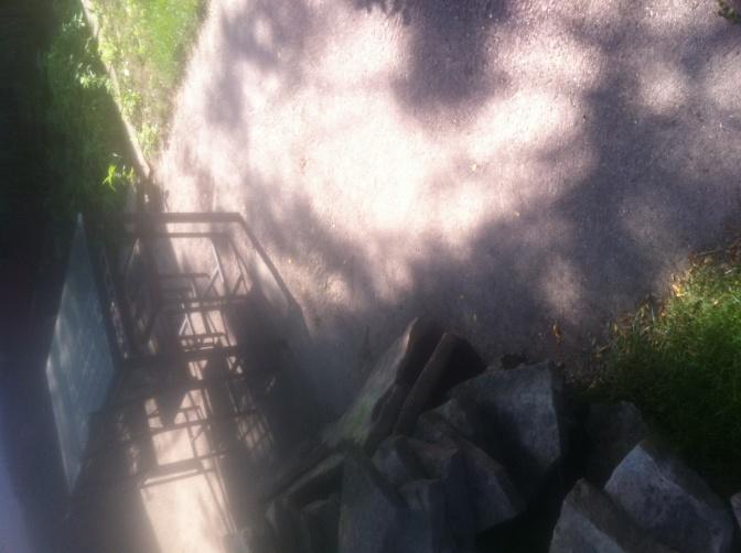 Natural stone patio over existing concrete pad (bomb shelter)-image.jpg