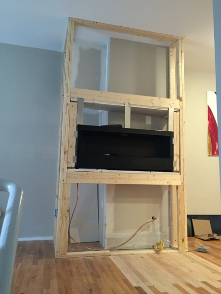 Cement Board Cracking Above Ventless Fireplace - Remodeling - DIY ...