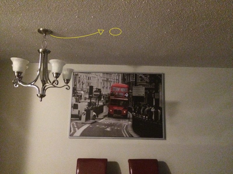 Possible To Move This Light Fixture