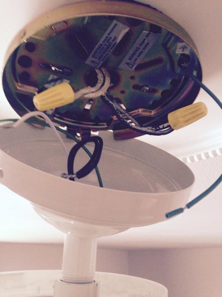 How To Install Ceiling Fan With Two 14 2 Wires Electrical Diy Chatroom Home Improvement Forum