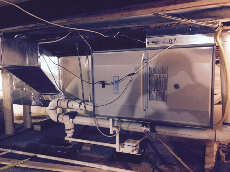 Bypass humidifier installed on horizontal furnace, possible?-image_1445050296584.jpeg