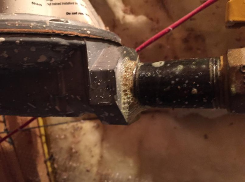 Gas line leak in attic-image_1455054096570.jpg