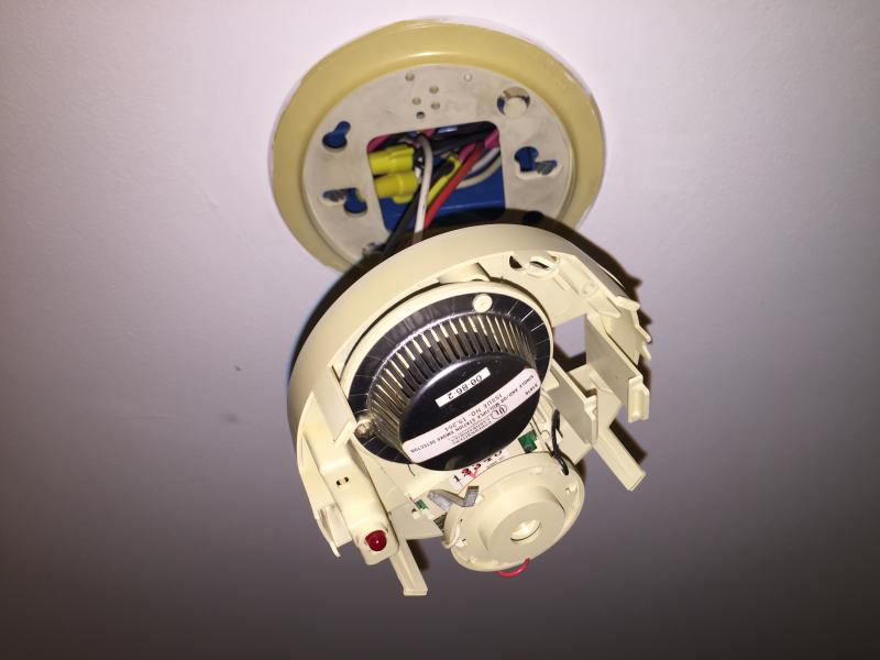 Replacing Battery In Hard Wired Smoke Alarm Help Needed General