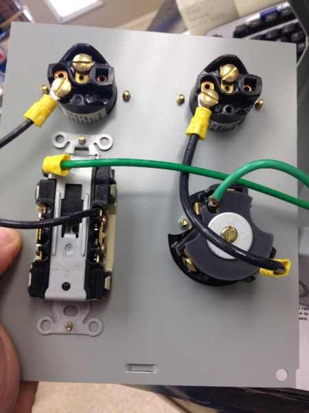 Wiring 30 Amp And 20a Recep Together - Electrical