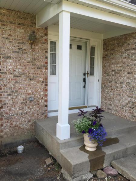 Gaps in cedar porch column - caulk or filler?-image_1467060357077.jpg