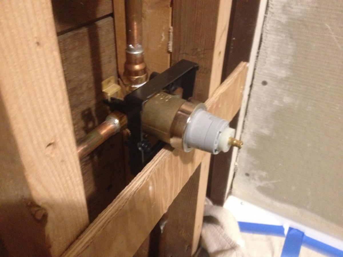 Depth Of Delta Bath Valve Kitchen Amp Bath Remodeling