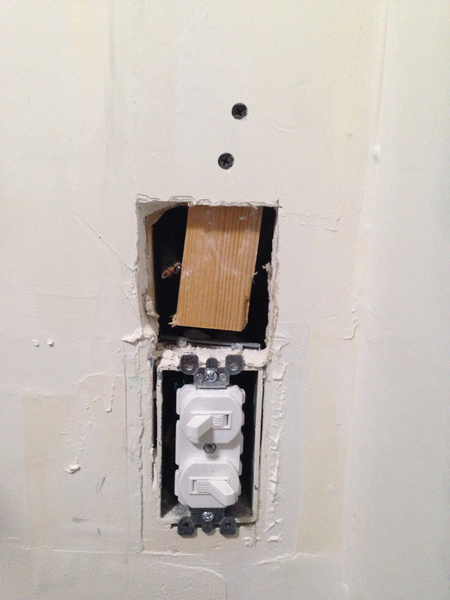 how to patch a small hole in drywall how to guides diy chatroom home improvement forum. Black Bedroom Furniture Sets. Home Design Ideas