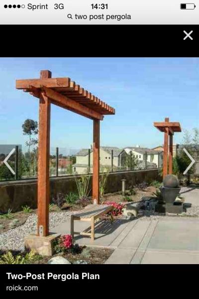 ... single post arbor | yard | Pinterest | Chair Swing, Swings and Arbors