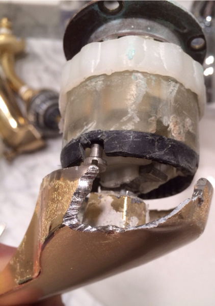 Problem Removing Handle Off Of Delta Monitor 1400 Series Tub Shower Faucet Imageuploadedbytapatalk1431737921