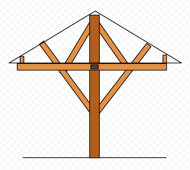 Supporting hip roof for Gazebo-imageuploadedbytapatalk1434143716.747250.jpg