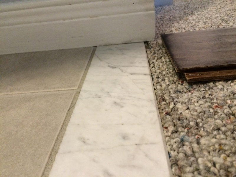 How Do I Remove This Marble Threshold Tiling Ceramics Marble