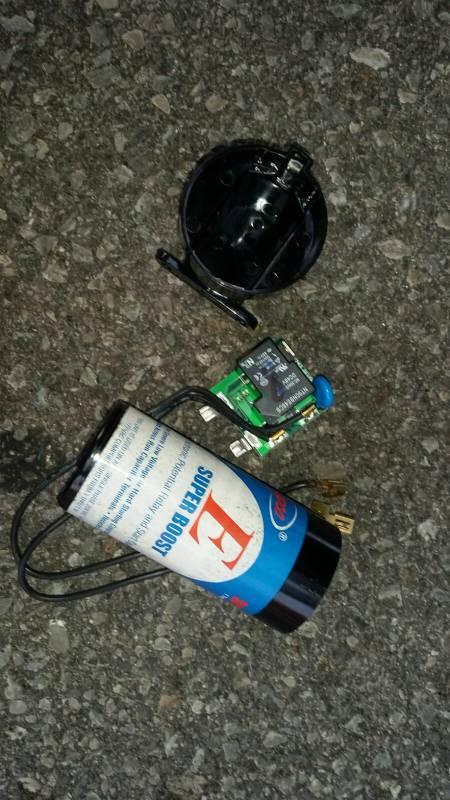 Trane xb10 hard start capacitor started on fire-img-20170829-wa0001.jpg