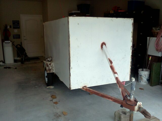 Enclosed Utility Trailer Project Automotive Repairs Diy