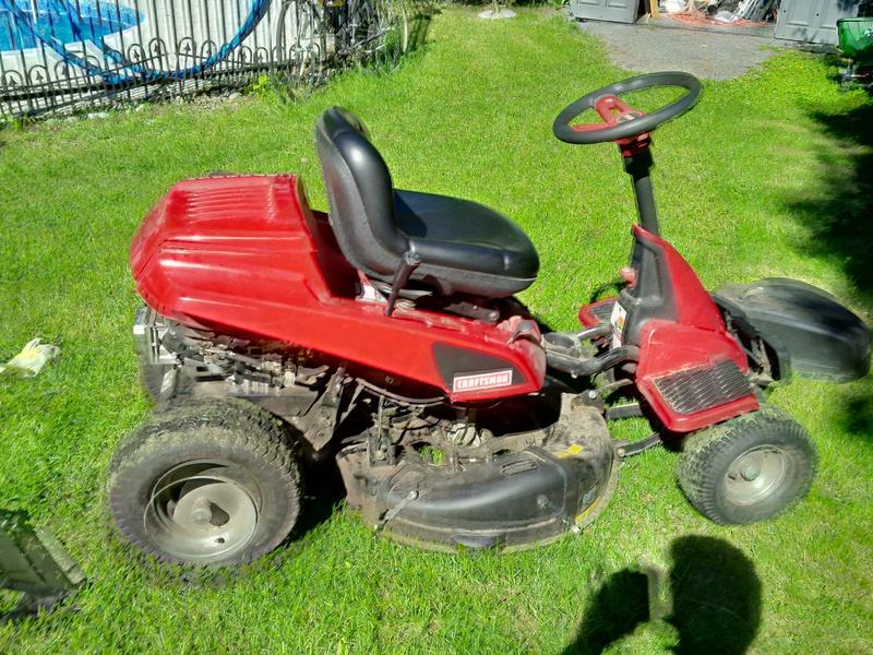 30 Craftsman Riding Mower Model No 944 601380 Removing Belt Img 00001479 Hdr Jpg