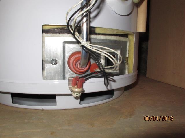Sears Economizer 6 Power Vent Water Heater Plumbing