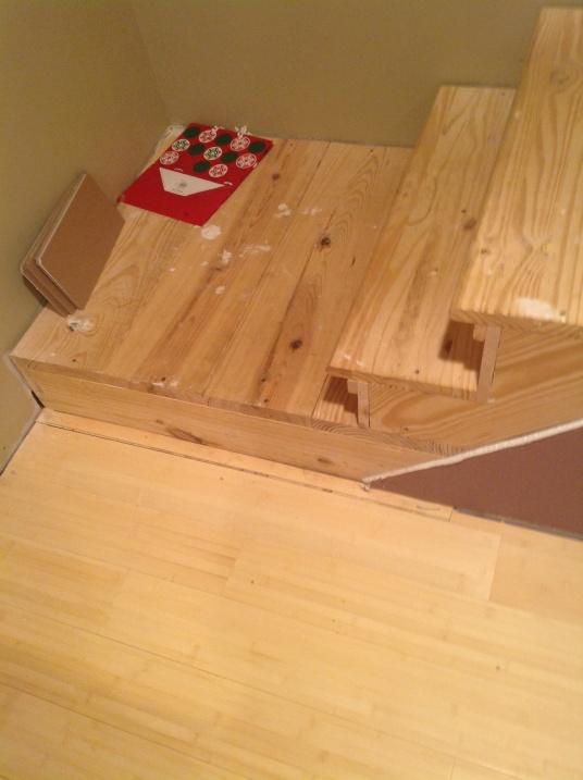 ... Finishing Basement Stairs Img_0021 ...