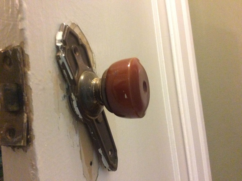Removing Old Style Doorknob Img_0062
