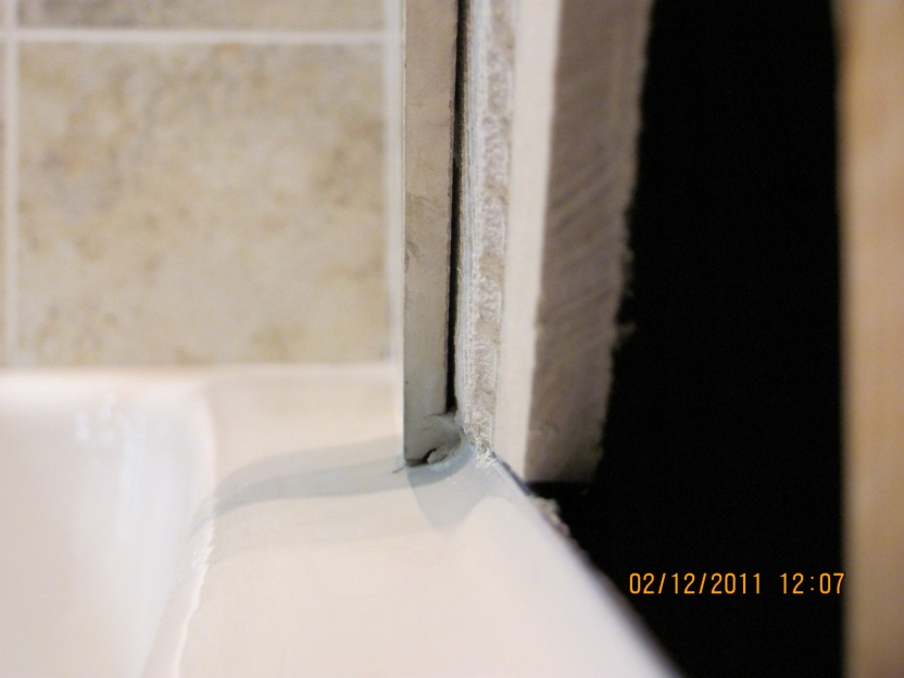 Backerboard Tile Tub Installl Building Amp Construction