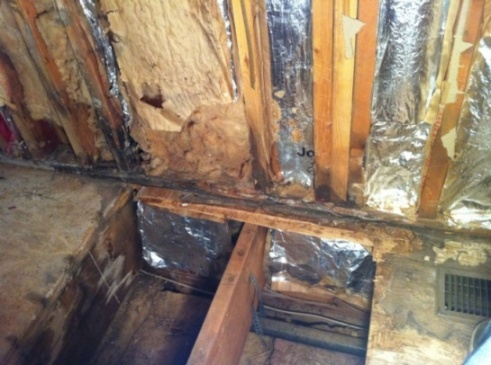 Repairing Rotten Wall Studs On Exterior Wall Remodeling