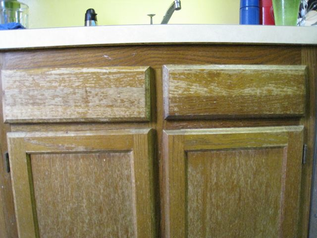 kitchen cabinets..paint or restain?-img_0128.jpg