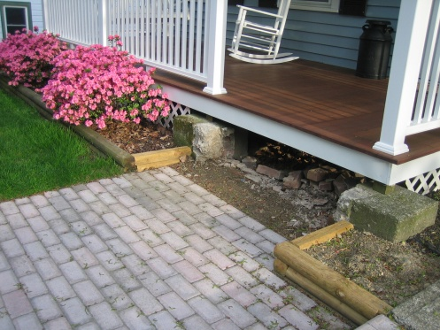 diy front porch steps small single level deck rww with diy front