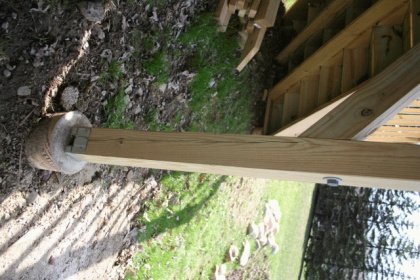 help - pressure treated 4x4 deck posts splitting-img_0150.jpg